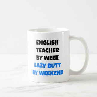 Lazy Butt English Teacher Coffee Mug