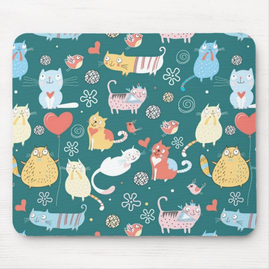 Lazy Cats Mouse Mat