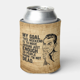 Lazy Dad Humor Father's Day Can Cooler