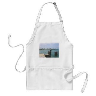 Lazy Day on the Docks Adult Apron