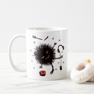 Lazy Day Relax Monster And Daydream Coffee Mug