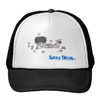 Lazy Days, Bubble Blowing Cap