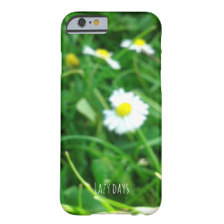 Lazy days daisy phone case