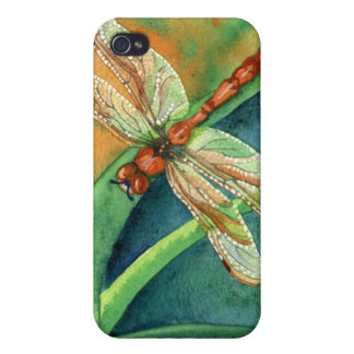 Lazy Days - Dragonfly iPhone 4 Cover
