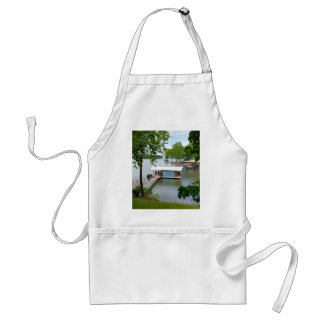 Lazy Days of Summer Path to Boat House Standard Apron