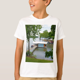 Lazy Days of Summer Path to Boat House T-Shirt