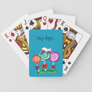 Lazy Days... Playing Cards