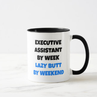 Lazy Executive Assistant Joke Mug