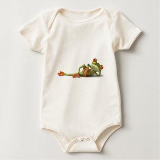 Lazy Frog Baby Bodysuit