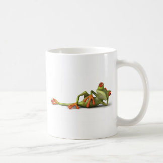Lazy Frog Coffee Mug