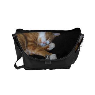 Lazy Ginger cat Commuter Bags