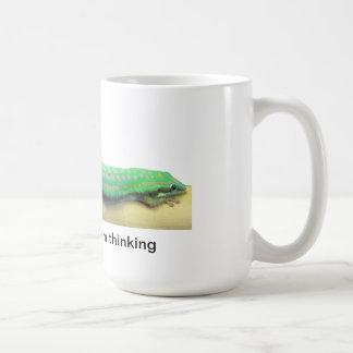Lazy Green Gecko Mug