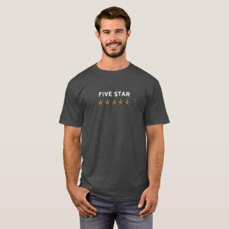 Lazy Hollywood Five Star T-Shirt