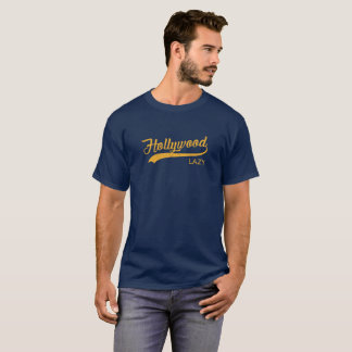 Lazy Hollywood Vintage T-Shirt | Orange