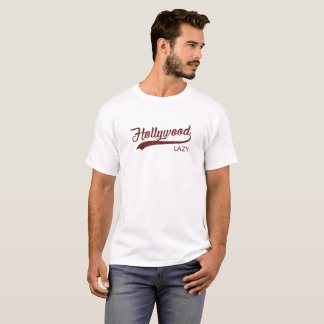 Lazy Hollywood Vintage T-Shirt | Red