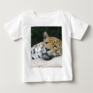 Lazy Leopard Baby T-Shirt