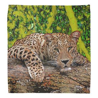 Lazy Leopard Bandana