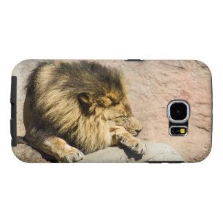 Lazy Lion Phone Case