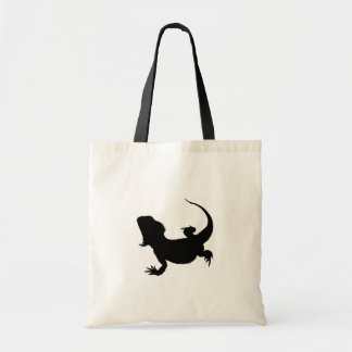 Lazy Lizard Tote Bag