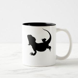 Lazy Lizard Two-Tone Coffee Mug