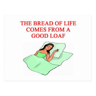 lazy loafer joke postcard
