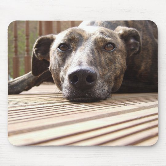 Lazy Lurcher Mouse Pad