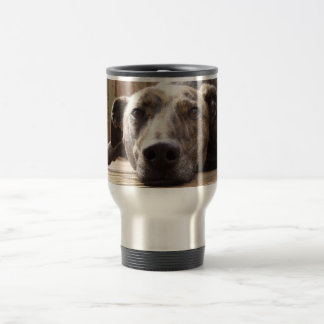 Lazy Lurcher Stainless Steel Travel Mug
