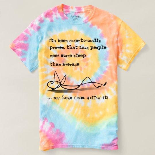 Lazy Man's T-shirt, Lazy Dude Tee