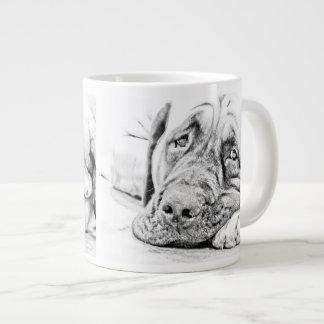 Lazy Mastiff Jumbo Mug