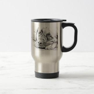 Lazy Mastiff Stainless Steel Travel Mug