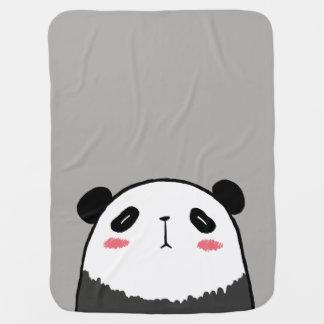 Lazy Panda Baby Blanket