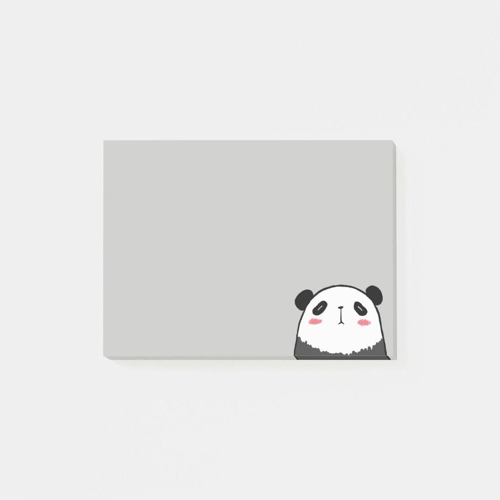 Lazy Panda Post-it Notes
