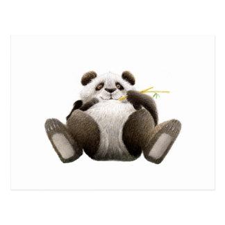 Lazy Panda Postcard