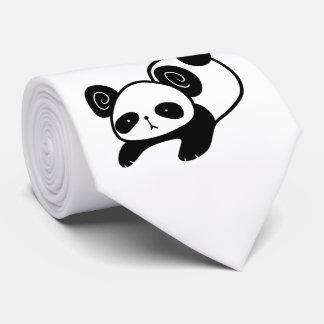 lazy panda tie