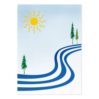 Lazy River ATC Pack Of Chubby Business Cards