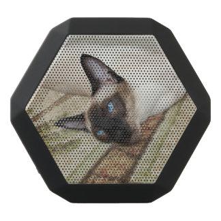 Lazy Siamese Cat Black Boombot Rex Bluetooth Speaker