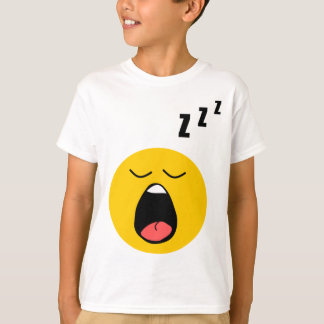 Lazy sleeping smiley T-Shirt