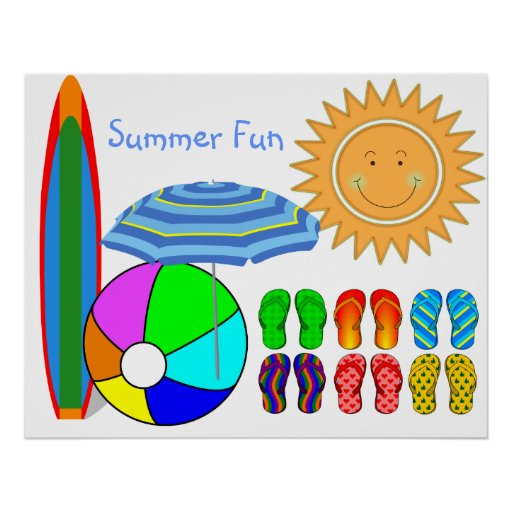 Lazy Summer Days Print