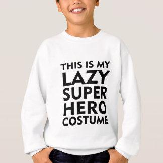 LAZY SUPERHERO COSTUME SHIRTS