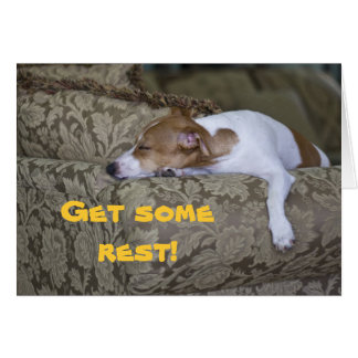 LazyBones, Get some rest! Card