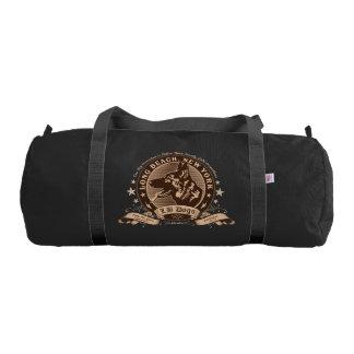 LB Dogs Duffle Bag, Black with Black straps Gym Bag