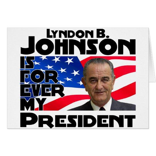 LB Johnson Forever Card