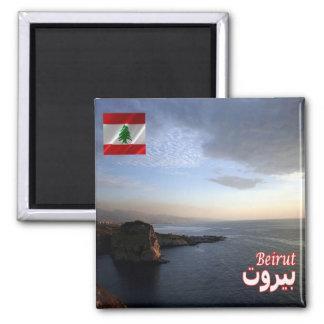LB - Lebanon - Beirut Sunset Magnet