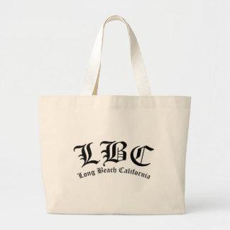 LBC Long Beach California Tote Bags