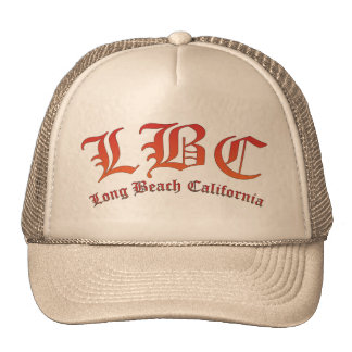 LBC - Long Beach California Cap