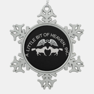 LBH Christmas Pewter Snowflake Decoration