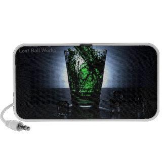 LBW Green Water Glass Speakers
