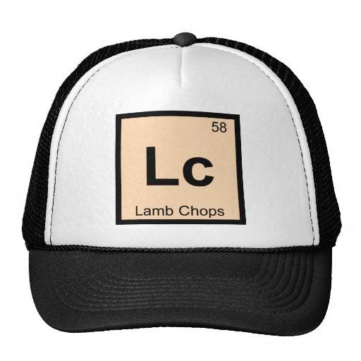 Lc - Lamb Chops Chemistry Periodic Table Symbol Hat
