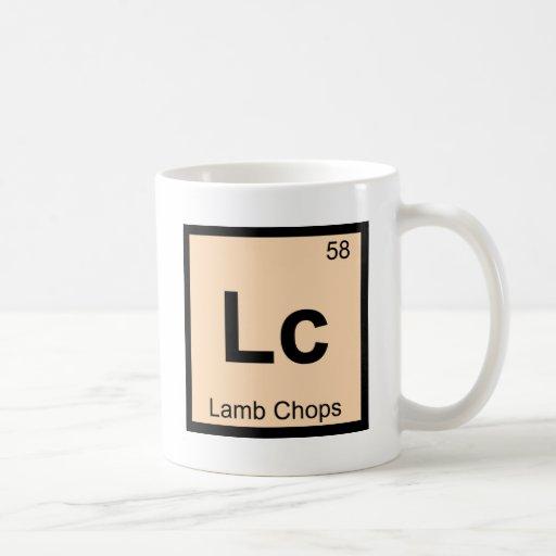 Lc - Lamb Chops Chemistry Periodic Table Symbol Mugs