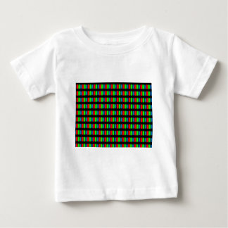 LCD mobile or computer screen micrograph Baby T-Shirt